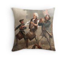 Yankee Doodle Dandy Throw Pillow