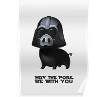 Star Wars: Pig Darth Vader Poster