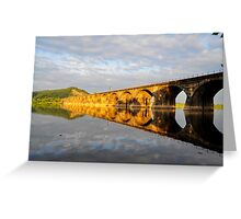 Reflection of History - V Greeting Card