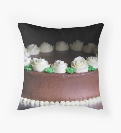 Edible Roses Throw Pillow