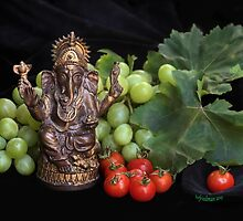 Good Fortune with Ganesha by heatherfriedman