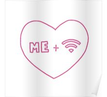 me and wifi Poster