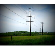 Country Lines Photographic Print