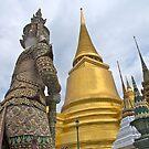Thailand, Bangkok, Wat Phra Kaeo by johnrf