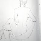 Nude...backview by Mrswillow
