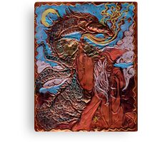 WIZARD AND DRAGON Canvas Print