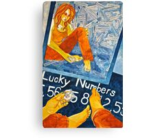 Lucky Numbers Canvas Print