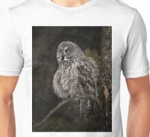 Great Grey Owl Unisex T-Shirt