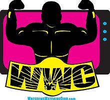SFWWC Funky Retro Wrestling Logo 80s Style by SanFranciscoWWC