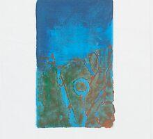 Lagoon Blue by Claudia Smaletz