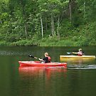 Twin Kayaks by AuntieJ