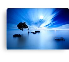 Blue Evening II Canvas Print