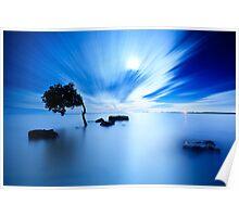 Blue Evening II Poster