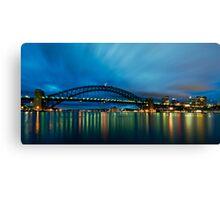 Opera House, Bridge, Tower.....must be Sydney! Canvas Print