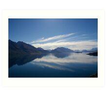 Lake Wakatipu - Queenstown Art Print
