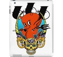 Red Devil & Sugar Skull! iPad Case/Skin