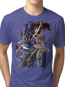 YuGi and BLS Tri-blend T-Shirt