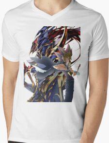 YuGi and BLS Mens V-Neck T-Shirt