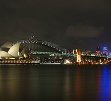 Sydney Harbour & OperaHouse by Melrobphotos