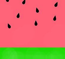 Watermelon by eliannadraws