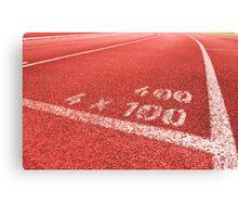 relay race Canvas Print