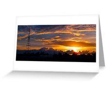 Gore Hill Sunburst 2 Greeting Card