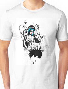 I Wish I Could Rave Like Jesus Unisex T-Shirt