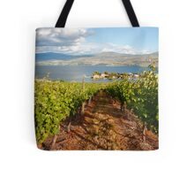 A view from the vineyard Tote Bag