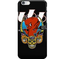 Little Red Devil & Sugar Skull! iPhone Case/Skin