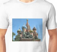 Iconic Domes--St Basil's Cathedral Unisex T-Shirt
