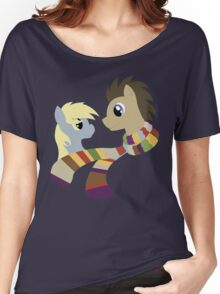 My Little Pony: Friendship is Magic - Dr Hooves and Derpy Hooves Women's Relaxed Fit T-Shirt