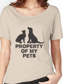 Property of my pets Women's Relaxed Fit T-Shirt