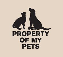 Property of my pets Womens Fitted T-Shirt