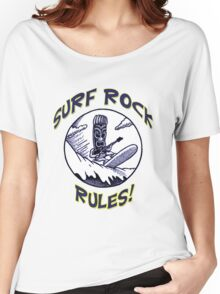 SURF ROCK RULES! Women's Relaxed Fit T-Shirt
