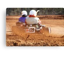 GO Karting Canvas Print