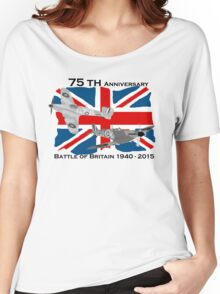 Battle of Britain 75th 1940 2015 Women's Relaxed Fit T-Shirt