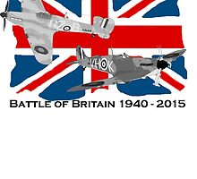Battle of Britain 75th 1940 2015 by Radwulf