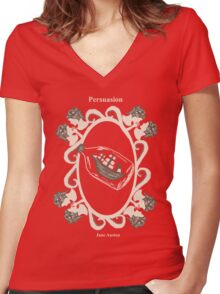 Persuasion Women's Fitted V-Neck T-Shirt