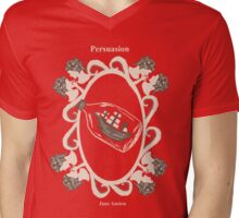 Persuasion Mens V-Neck T-Shirt