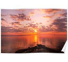 New England Sunrise Poster