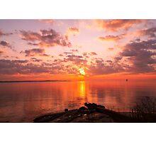 New England Sunrise Photographic Print
