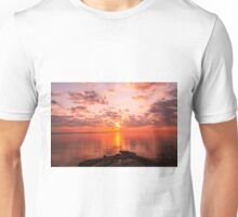 New England Sunrise Unisex T-Shirt