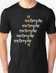 Example - Crossed Words T-Shirt