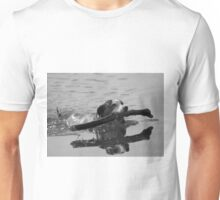 Dog playing 2 Unisex T-Shirt