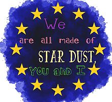 Europe - a star chart by Rouages Design