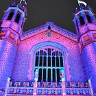 Northern Lights - Bonython Hall Lions and Arches by bsn-photography