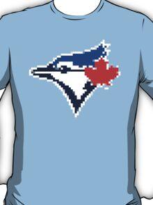 8 Bit Blue Jays Art T-Shirt