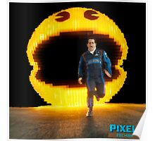 Pacman Pixels Movie Poster