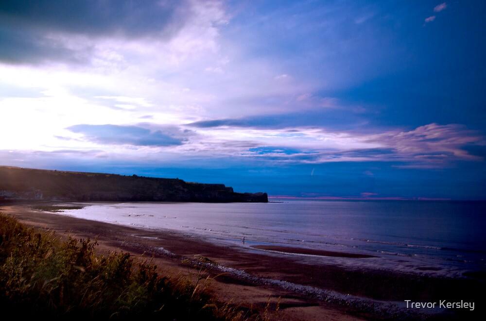 Sandsend Beach by Trevor Kersley