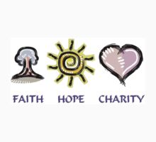 Faith Hope and Charity Kids Clothes